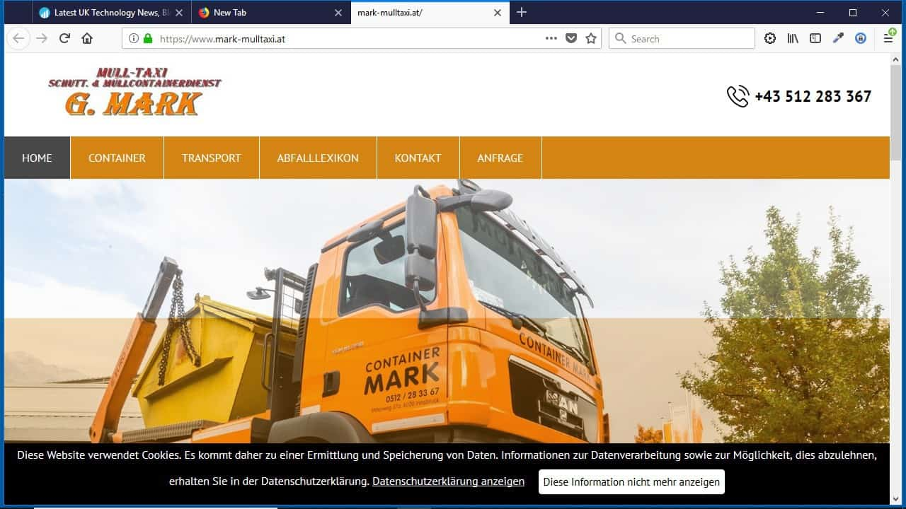 Müll-Taxi Schutt- und Müllcontainerdienst  G. Mark