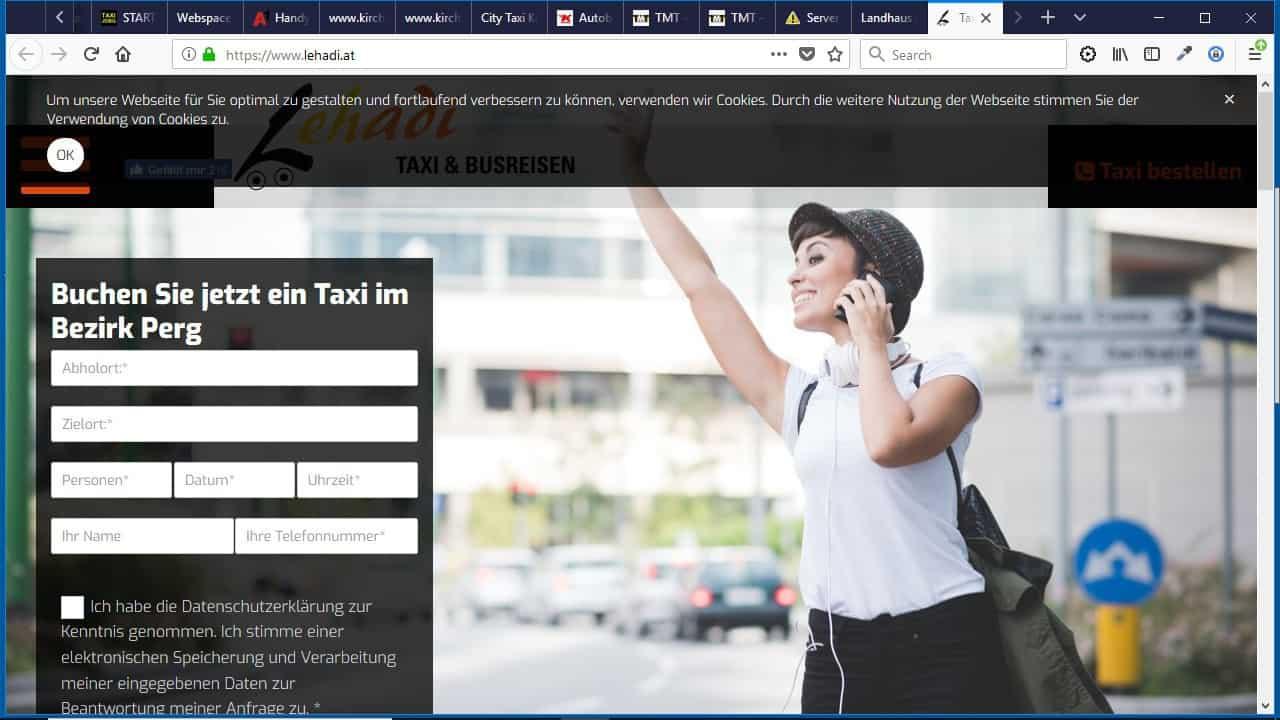 """Lehadi"" Leonhardsberger Taxi & Busreisen"