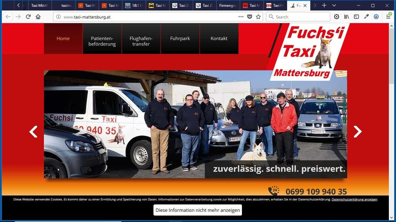 Fuchs'i Taxi Mattersburg