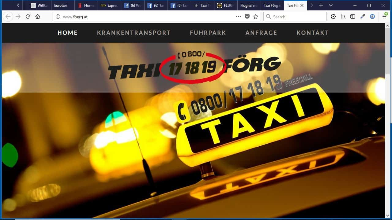 Taxi Förg
