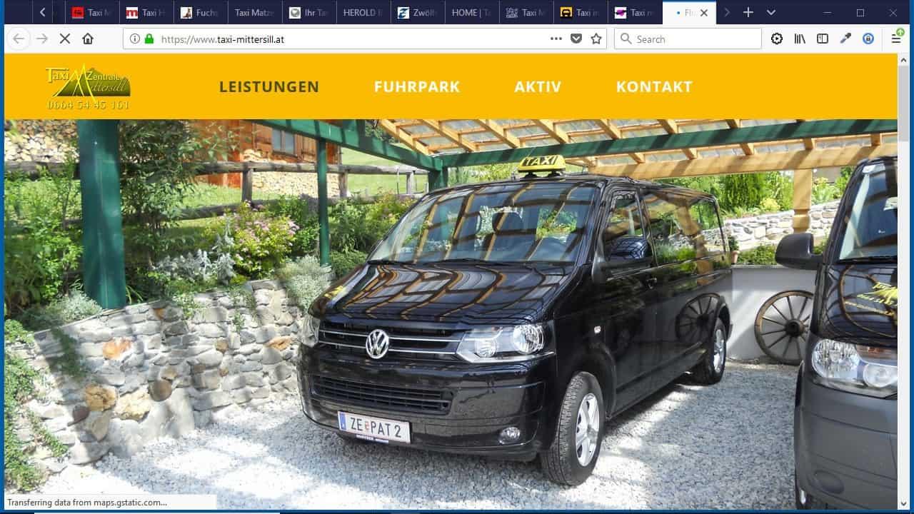 Taxi Mittersill
