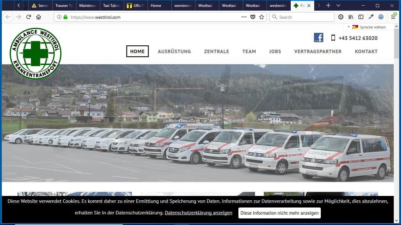 Imster-Funktaxi-Zentrale Ambulance-Westtirol – Leys OG – Taxi- u. Krankentransportunternehmen