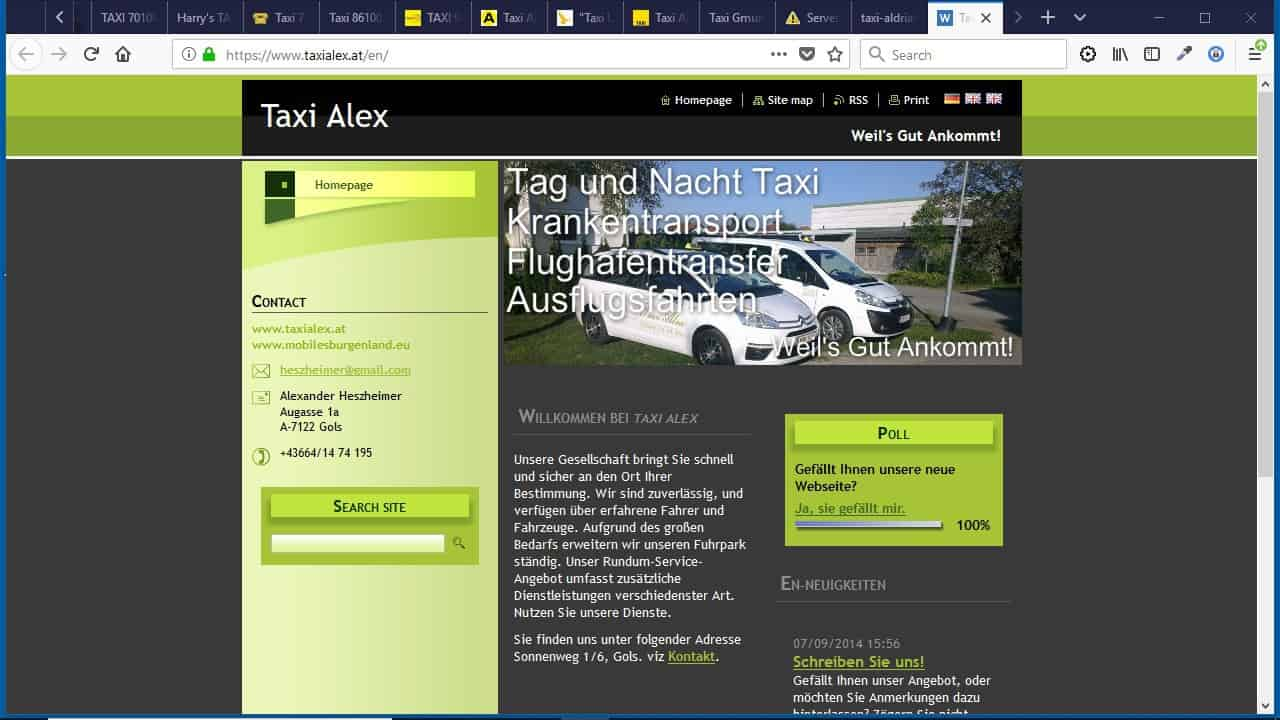 Alexander Heszheimer – Taxi Alex