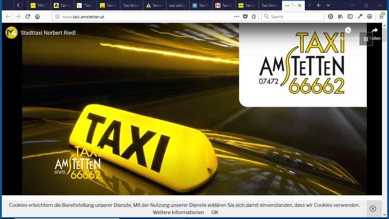 Stadttaxi Amstetten – Taxi Amstetten – Taxi Ennsdorf – Taxi St. Valentin