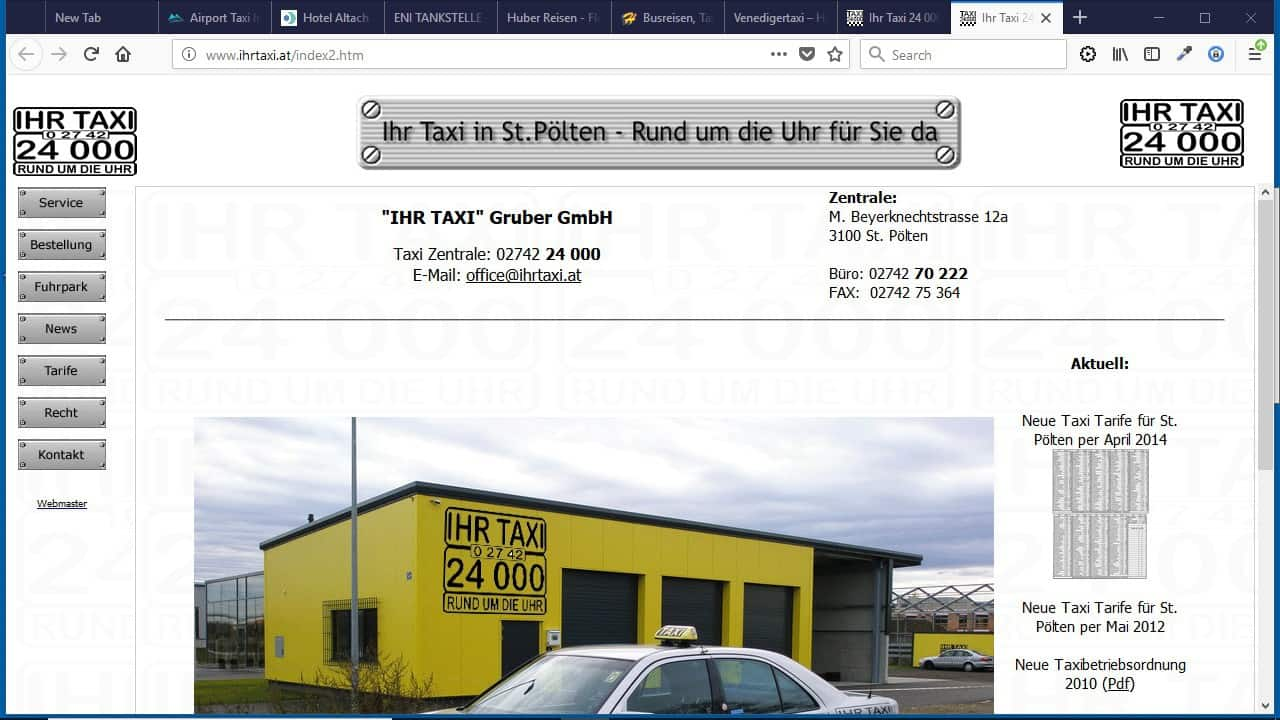 """Ihr Taxi"" Gruber GmbH"