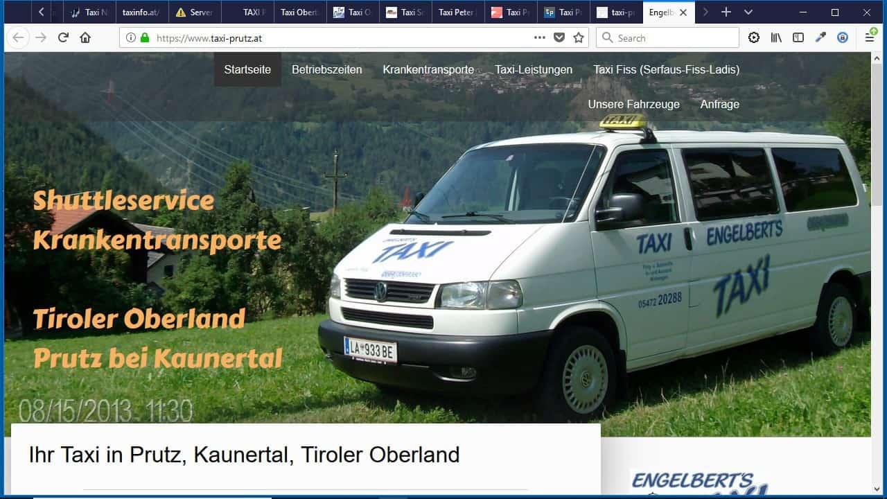 Engelbert's Taxi e.U.  Inhaber: Engelbert Reinstadler