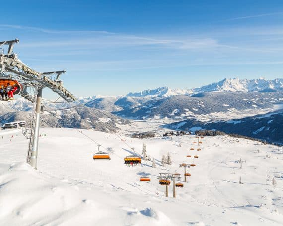 TA ©Flachau Tourismus Pisten Winter