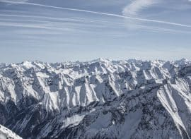 Tux Ausblick Berge